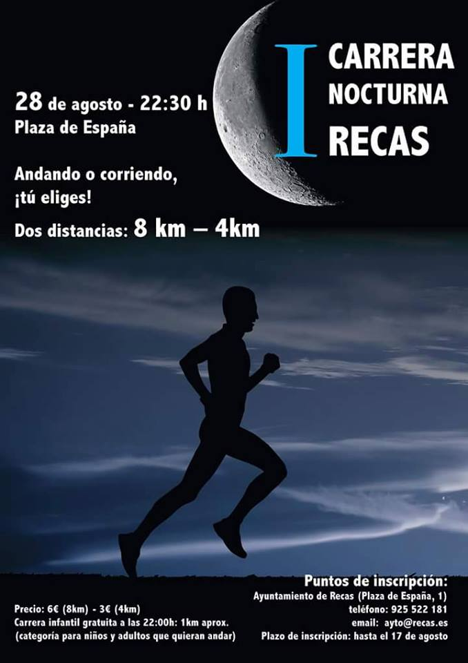 I Carrera Nocturna de Recas