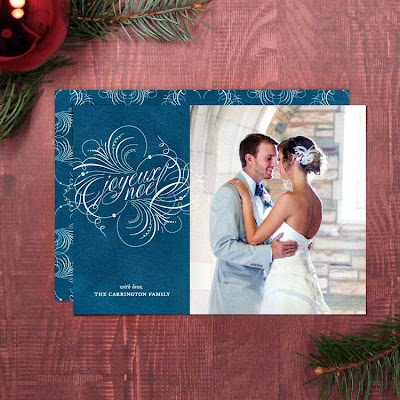 printable diy holiday christmas elegant unique custom vintage photo card greeting