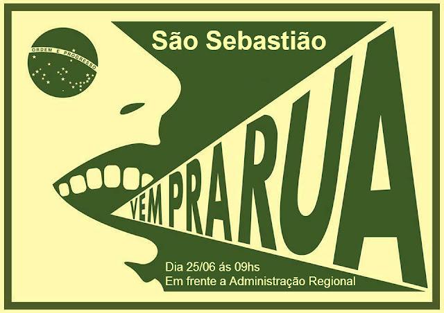 #VempraruaSãoSebastião
