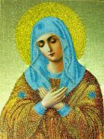 """Икона  """"Умиление """" была любимой иконой преподобного Серафима Саровского, он называл её  """"Всех радостей радость """" ."""