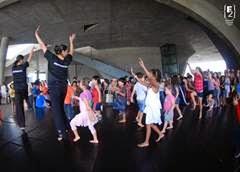 Oficina de dança no Santa Cruz Shopping para as crianças