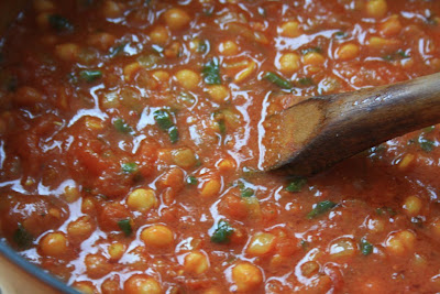 Moroccan chickpea stew an easy 30 minute meal