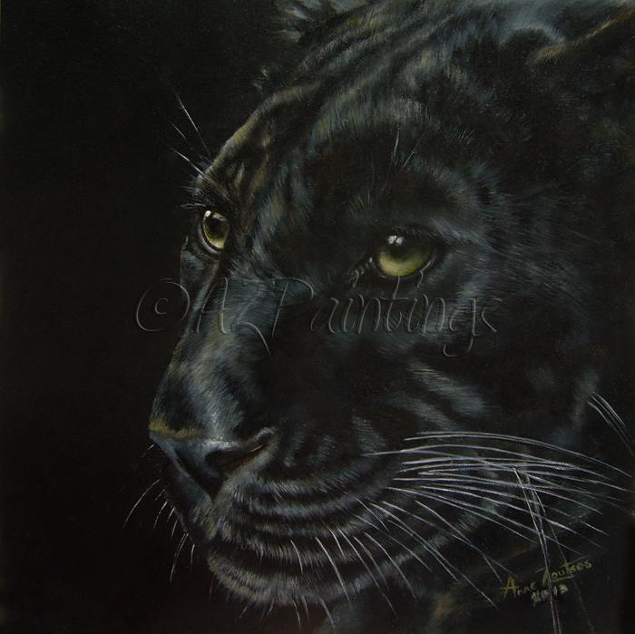 Black As Night: AZPAINTINGS : Black As Night