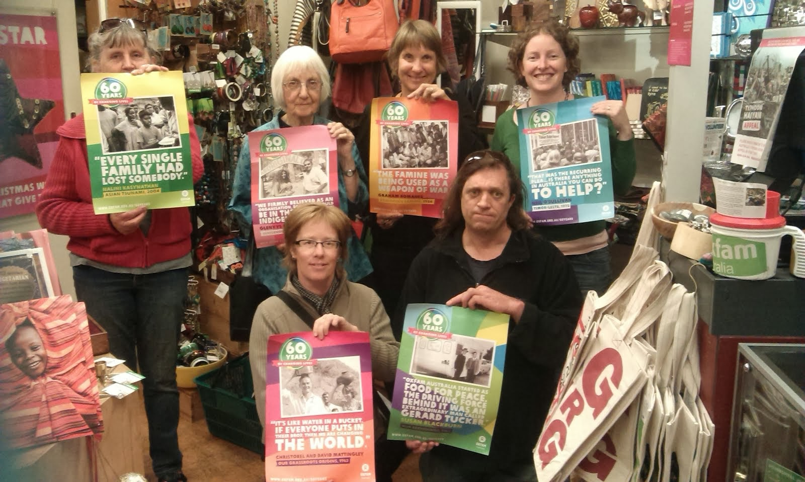 Oxfam Launceston Group