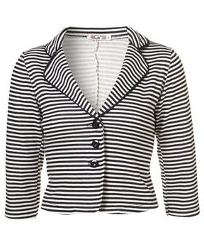 Nautical Stripe Blazer