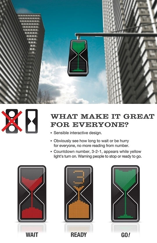 interactive traffic lights