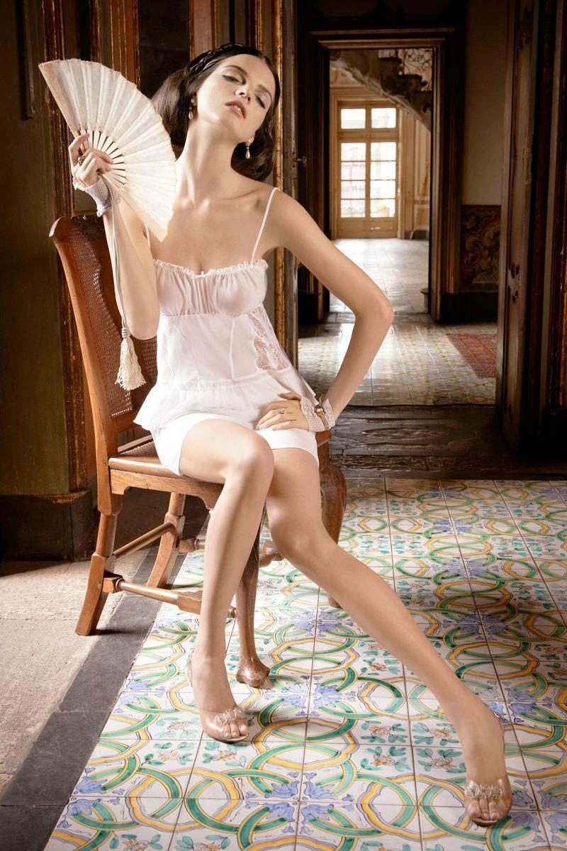 Jeisa Chiminazzo – La Perla Lingerie Spring/Summer 2013 ...