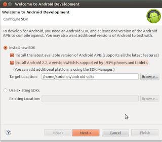 Cómo instalar entorno desarrollo Android