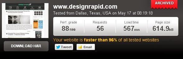 designrapid speed