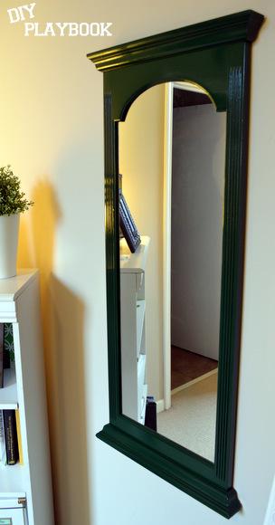 Hunter Green Glossy Mirror