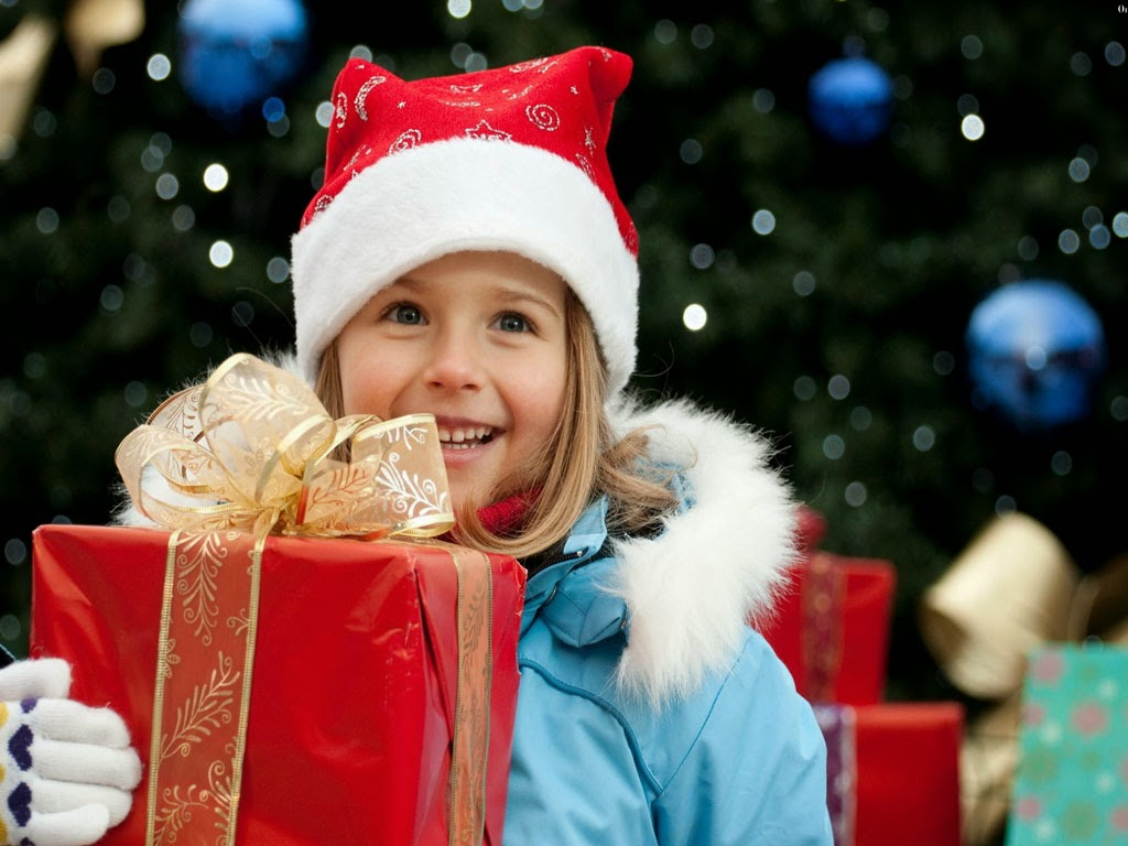Merry Christmas Cute Kids Babies HD Wallpapers