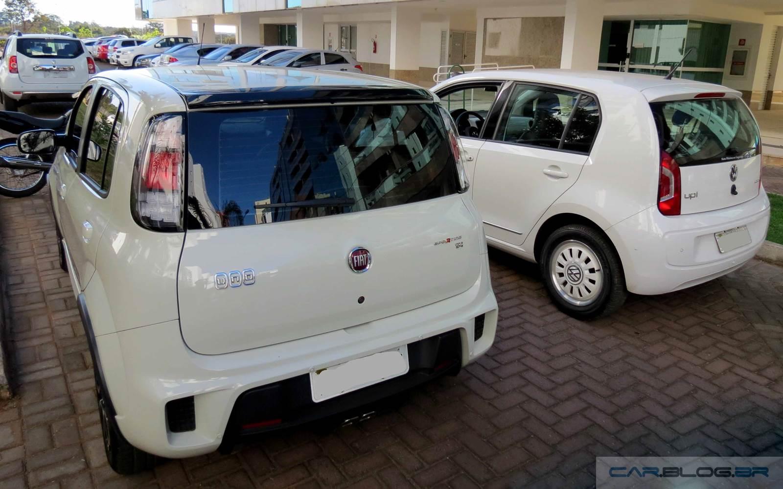 Fiat Uno Dualogic x Volkswagen Up! I-Motion - comparativo