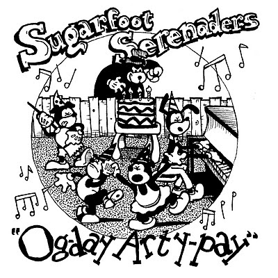Sugarfoot Serenades, old time, Cartoon Dogs, Menace