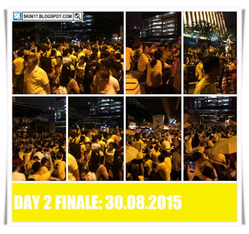 Bersih 4.0 Rally Kuala Lumpur 29-30.08.2015