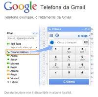 telefonare da Gmail