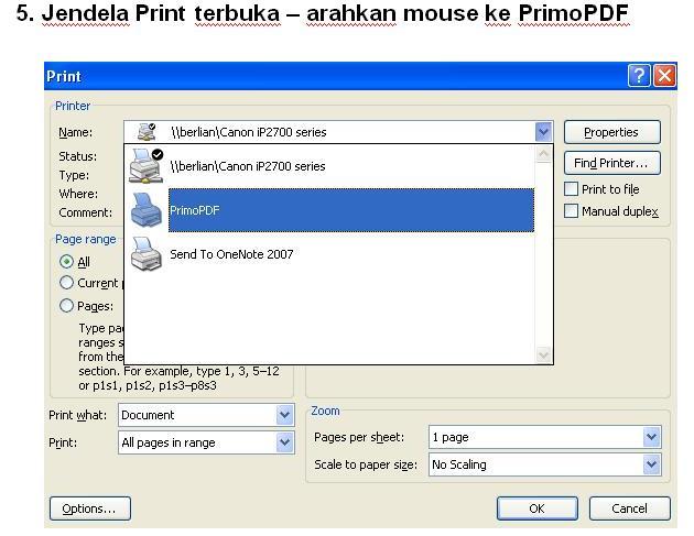 membuat PDF