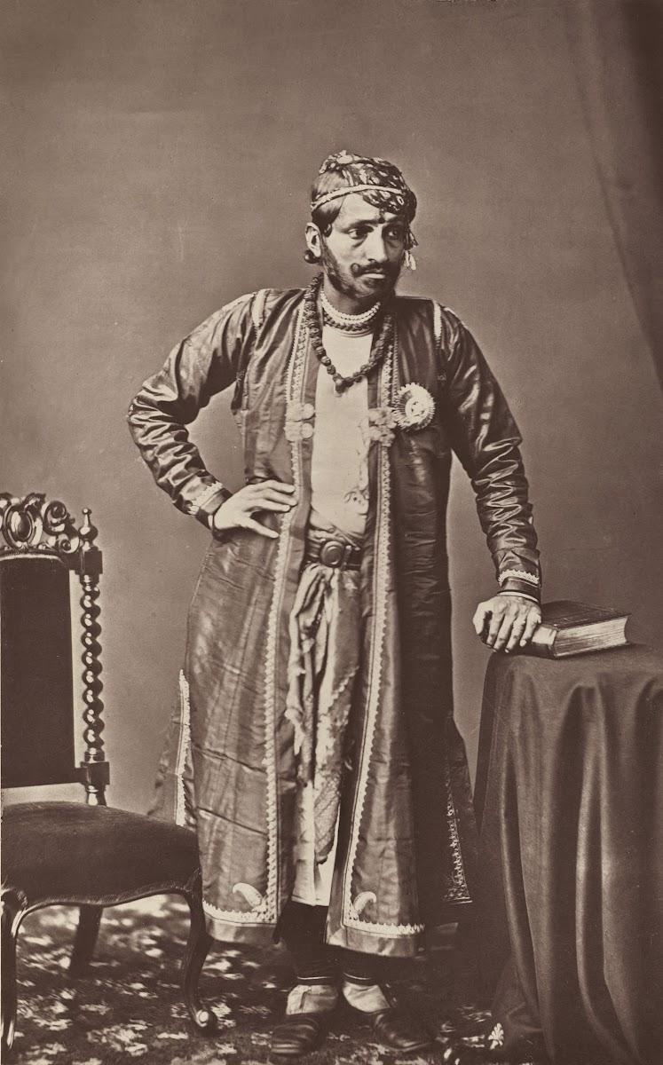 Maharaja of Jaipur Ram Singh II - 1877
