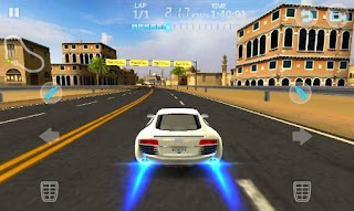 Screenshots of the City racing 3D for Android tablet, phone.