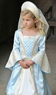 Deluxe Tudor Girl Costume