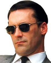 "Jon Hamm, en "" MAD MEN """