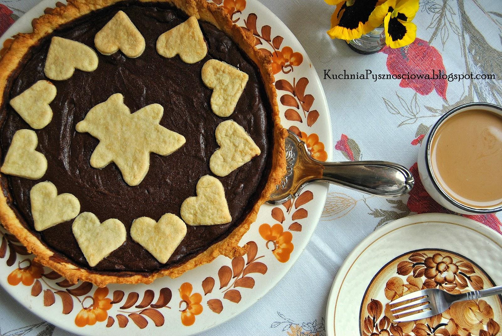 211. Tarta czekoladowa z solą morską na Dzień Czekolady