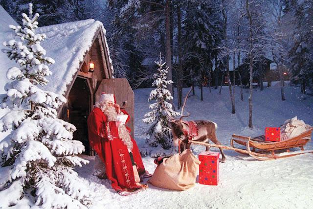 Quê hương ông già Noel