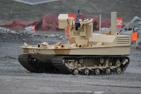 Robot Rusia Akan Lindungi Senjata Nuklir dan Luncurkan Misil Balistik