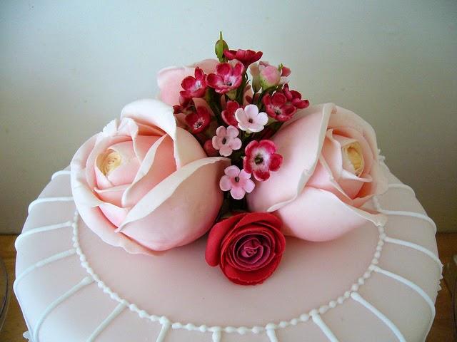 Flores de Fantasia, Pasteles de Boda