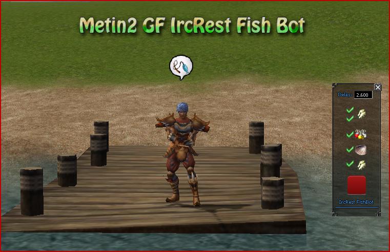 Metin2 IrcRest Fish Bot