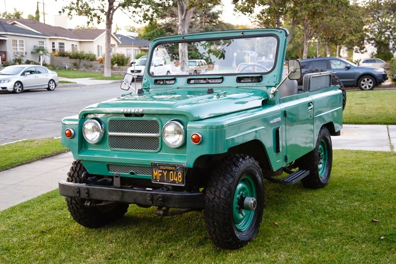 Rare 1964 Nissan Patrol Auto Restorationice