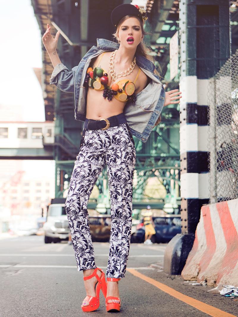 Tough girl style ghetto pop Animal fashion style me girl