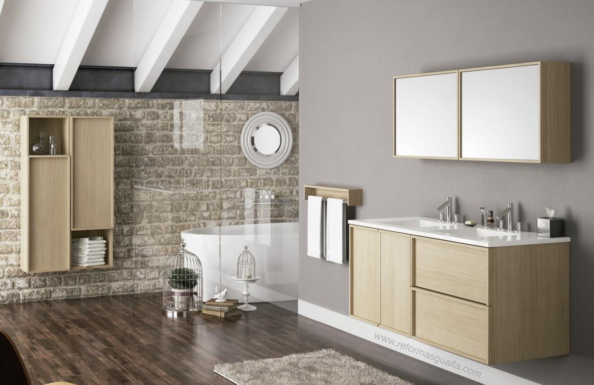 Althair mueble ba o modular y a medida reformas guaita - Muebles de bano en esquina ...