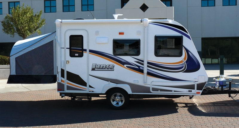 Lance Camper Debuts Small Trailer