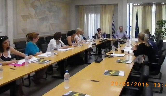 Συνεδρίασε η Περιφερειακή Επιτροπή Ισότητας και αντιμετώπισης των κοινωνικών προβλημάτων των γυναικών