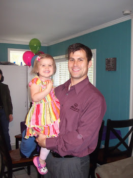 Eden and Jay on her 2nd Birthday
