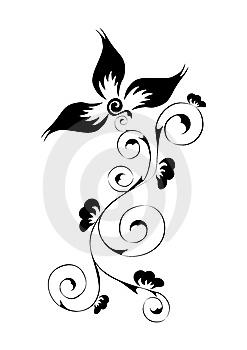 Tribal Flower Tattoos