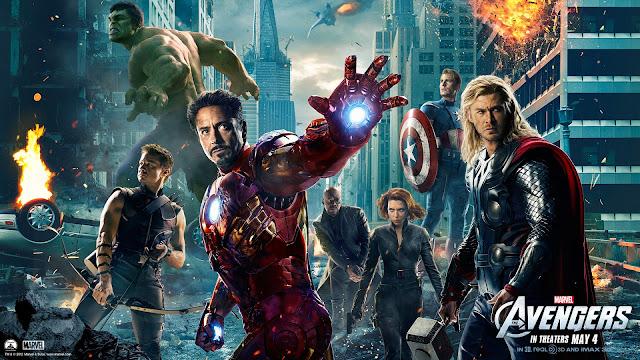 Avengers Movie Poster (courtesy Marvel) - darthmaz314