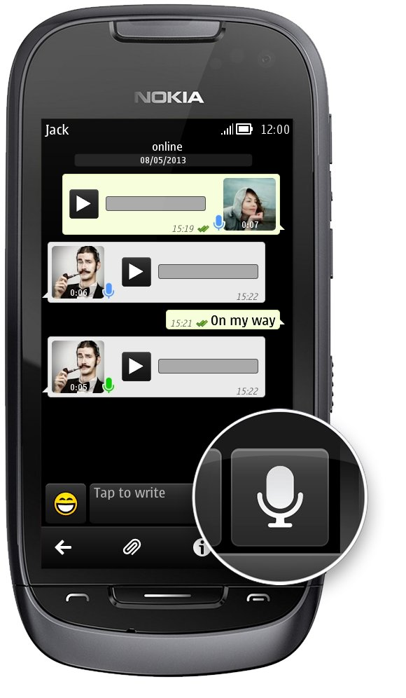 symbian video whatsapp messenger whatsapp voice messages