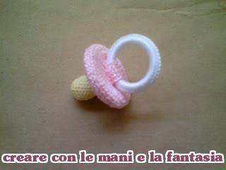 Creare Con Le Mani E La Fantasia Ciuccio Bomboniere Uncinetto