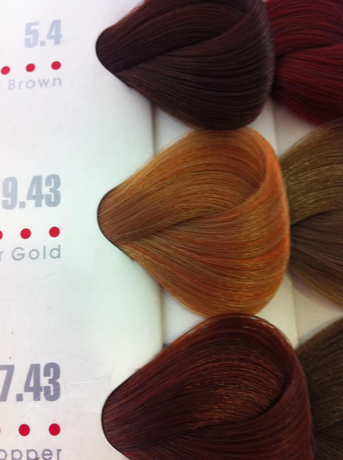 HBC Hair Color: Light Copper Blonde