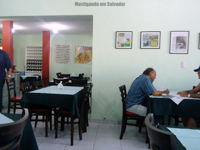 A Venda Bar e Restaurante: Ambiente interno