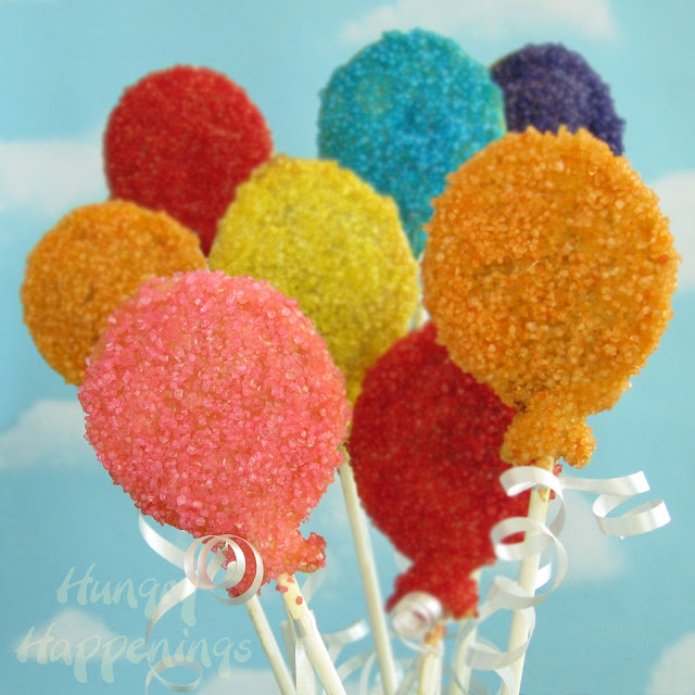 Gallery For gt How To Make Balloon Cake Pops