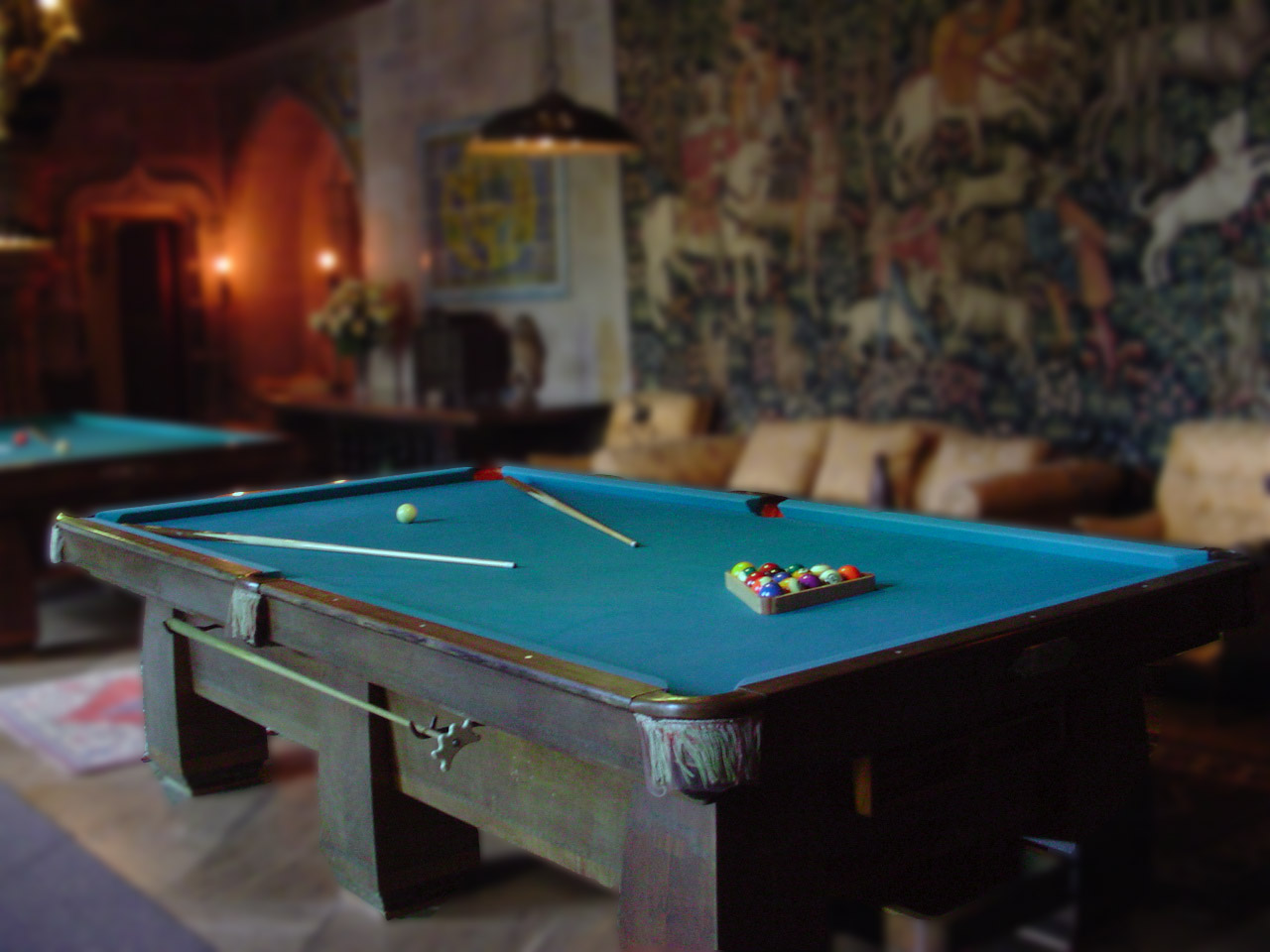 Top 42 beautiful pool table and snooker wallpapers in hd - Billiard table vs pool table ...