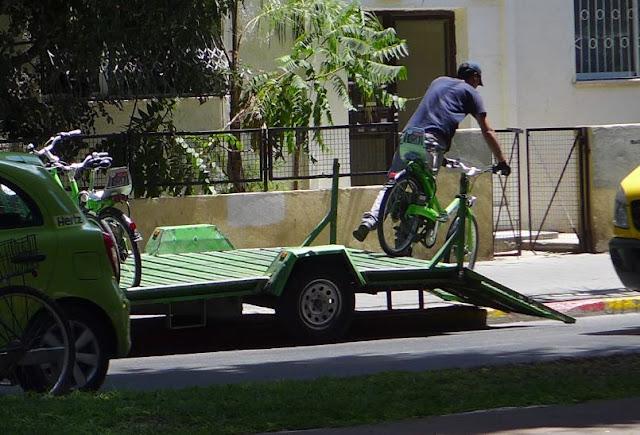Bike Rental Tel Aviv - Tel Ofun