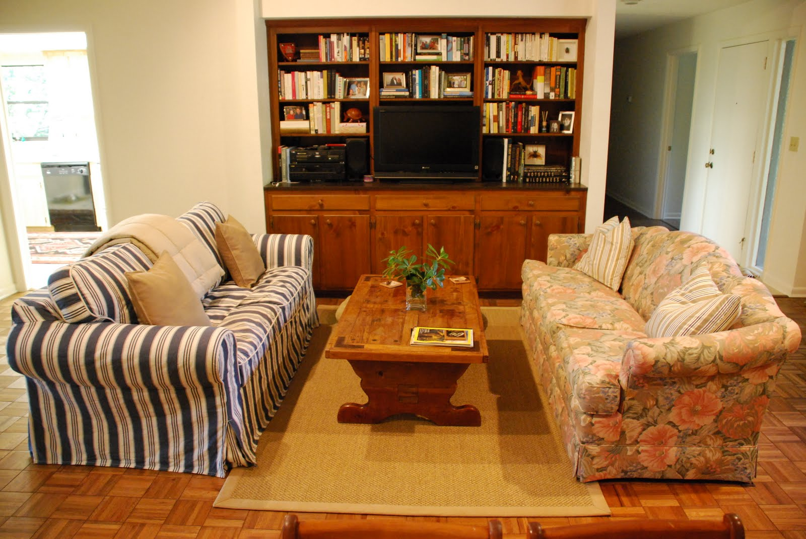Couches Facing Each Other