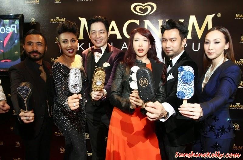 Wak Doyok, Ning Baizura, Alan Yun, Nasha Aziz, Aqashaa, Belinda Chee, Magnum Muses, Magnum Models, Magnum Creations, Magnum Café Kuala Lumpur, Magnum Kuala Lumpur, Magnum Cafe, Make My Magnum, Magnum ice cream