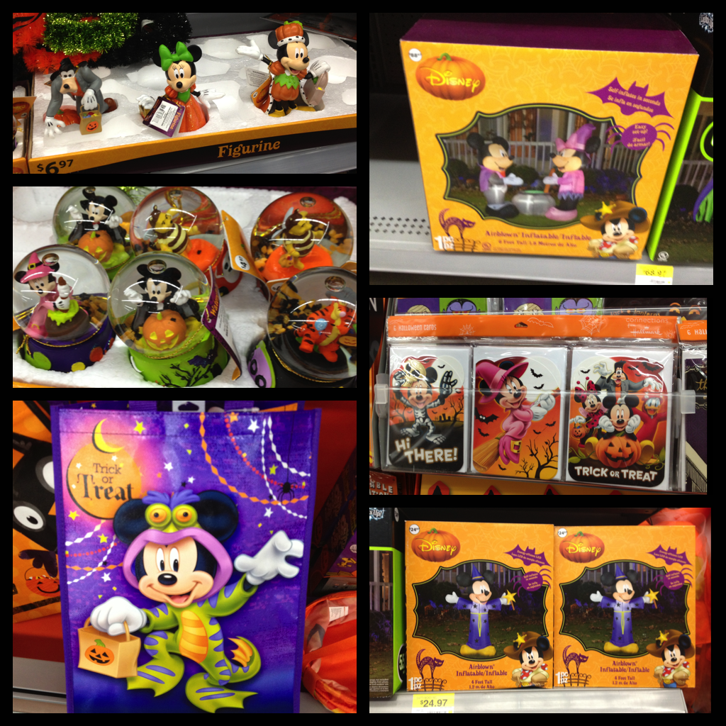 around mid september wal mart really started to get all of their halloween merchandise out we found these one night while we were walking by