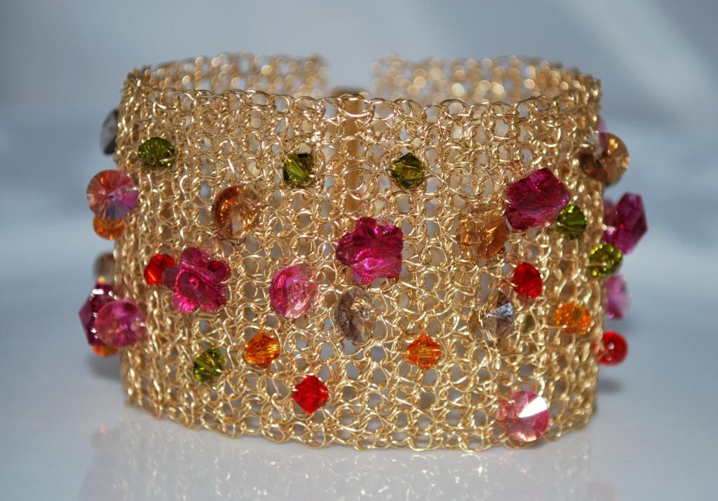 Crochet Wire Cuff Bracelets