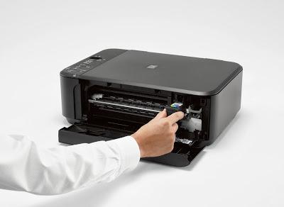 how to change printer ink canon pixma mx410