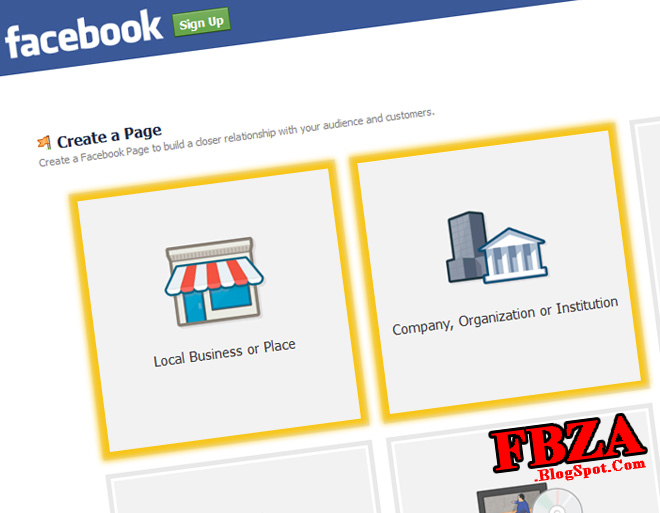 Creating page in Facebook !